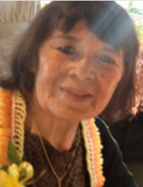 Photo of Josephine Leong, an older woman with chin-length brown hair and freckled tan skin.