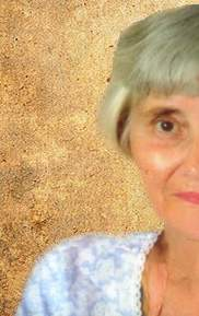 Photo of Joy Martin, an elderly woman with light skin and straight gray hair. The photo shows only the left half of the face.